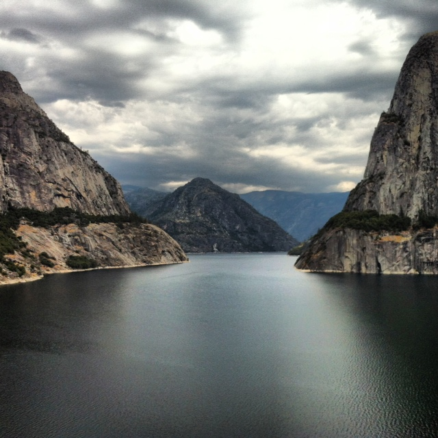 Hetch Hetchy Reservoir, Tuolumne River, Yosemite National Park